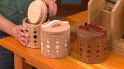 Season 12, Episode 11: Threaded Lid Canisters