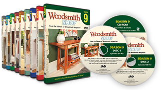 Woodsmith Shop DVD's